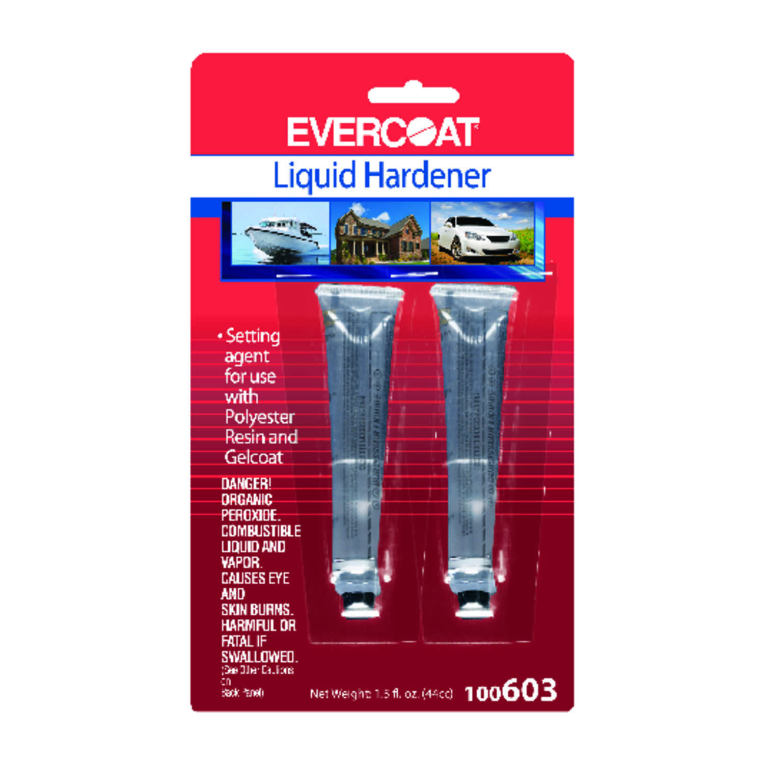 Evercoat  Liquid Hardener  1-1/2 oz.