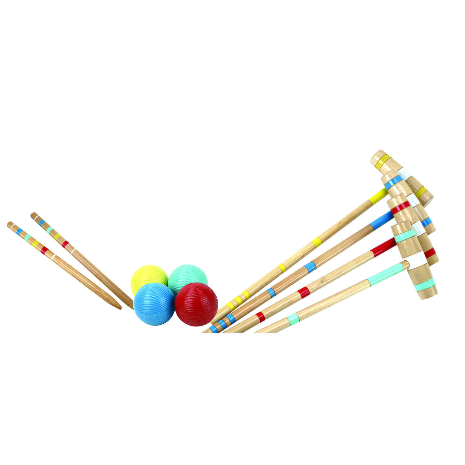 Halex  4 Player  Croquet Set  8 Years and up year