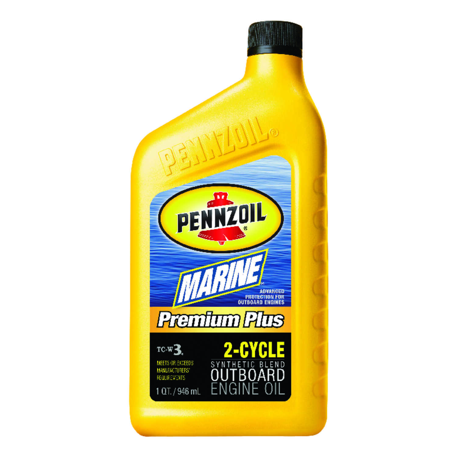 PENNZOIL  Marine  TC-W3  2 Cycle Engine  Motor Oil  1 qt.