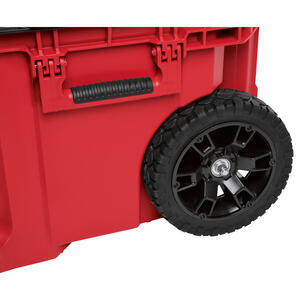 Milwaukee  PACKOUT  22.1 in. Impact-Resistant Poly  Rolling  Tool Box  25.6 in. W x 18.9 in. H Wheel