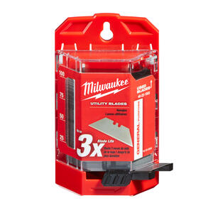 Milwaukee  Micro Carbide Metal  Utility  Blade Dispenser with Blades  3 in. L 100 pc.