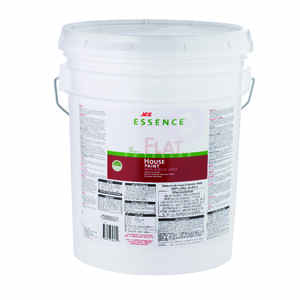 Ace  Essence  Flat  White  Acrylic Latex  5 gal. House Paint