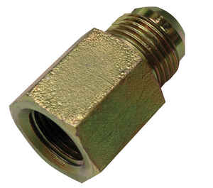 Apache  Steel  Hydraulic Adapter  5/8 in. Dia. x 1/2 in. Dia. 1 pk