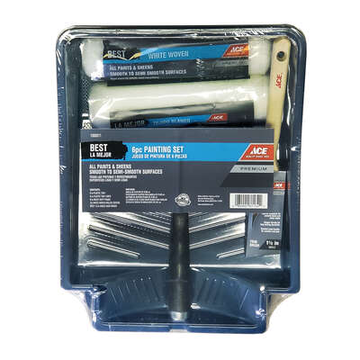 Ace  Best  Plastic  9 in. W x 9 in. L Paint Tray Set