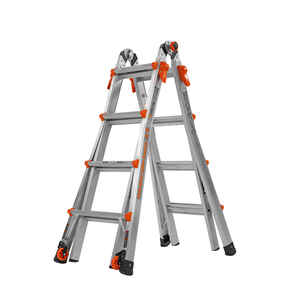 Little Giant  17 ft. H Aluminum  Extension Ladder  Type IA  300 lb.