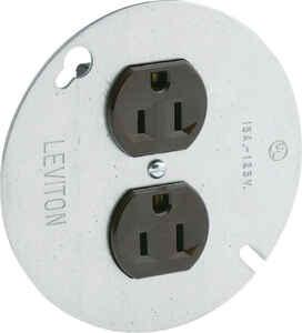Leviton 15 amps 125 volt Brown Outlet 5-15R ...