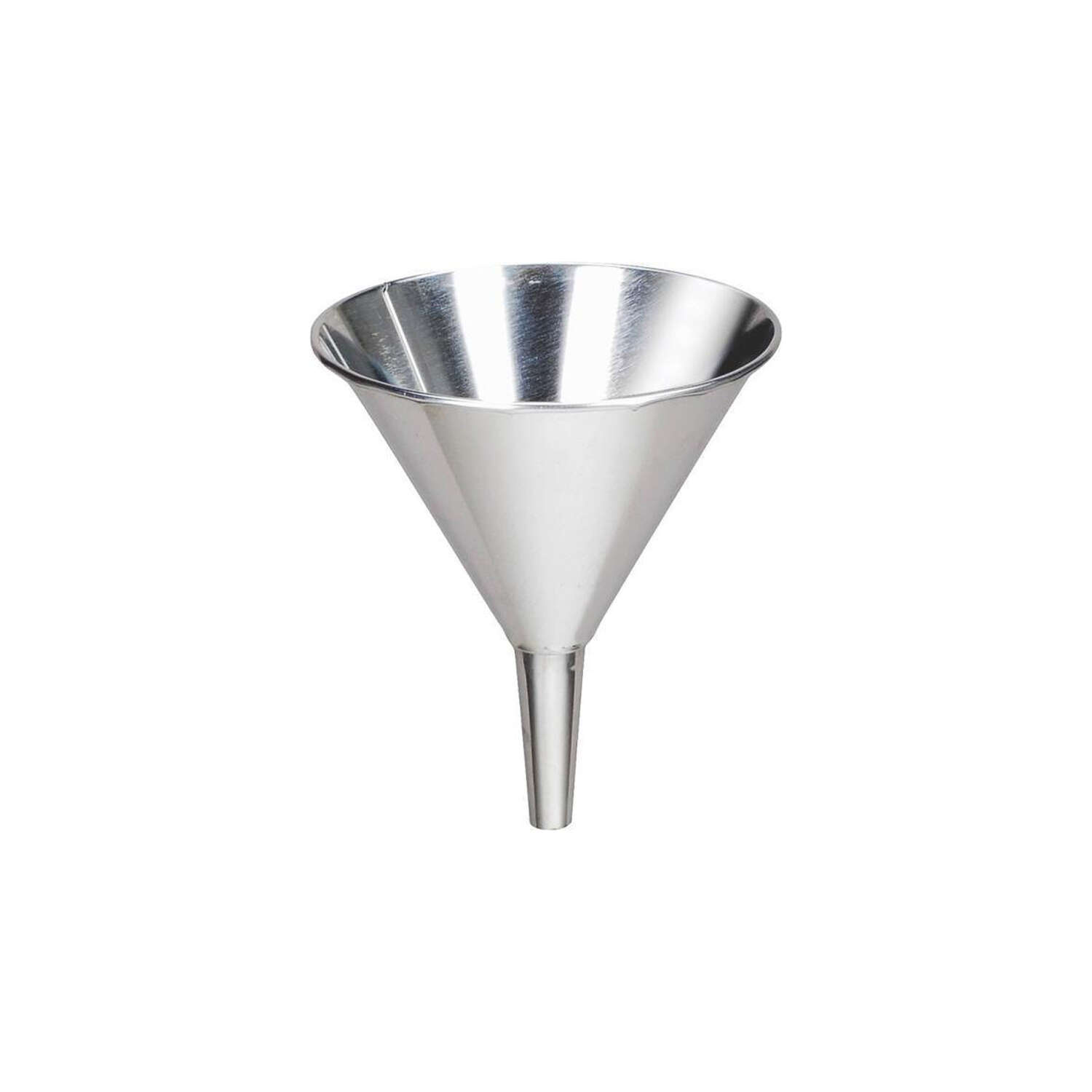 Behrens  Silver  5.25 in. H Tin  10 oz. Funnel
