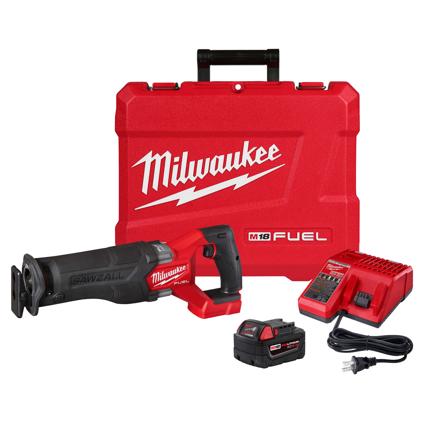Milwaukee  M18 FUEL SAWZALL  18 volt Cordless  Brushless  Reciprocating Saw  Kit (Battery & Charger)