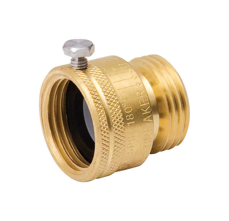 B & K  ProLine  3/4 in. MHT  Brass  Vacuum Breaker  3/4 in. FHT