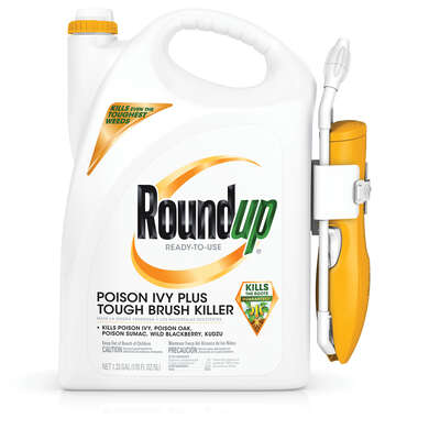 Roundup  Poison Ivy Plus Tough Brush Killer  RTU Liquid  1.33 gal.