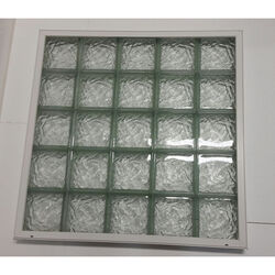 Clear Choice  40 in. H x 40 in. W x 3 in. D Ice  Window