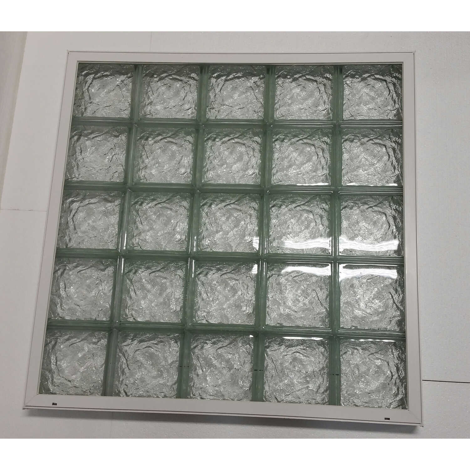 Clear Choice  40.86 in. H x 40.86 in. W x 3 in. D Glass Block