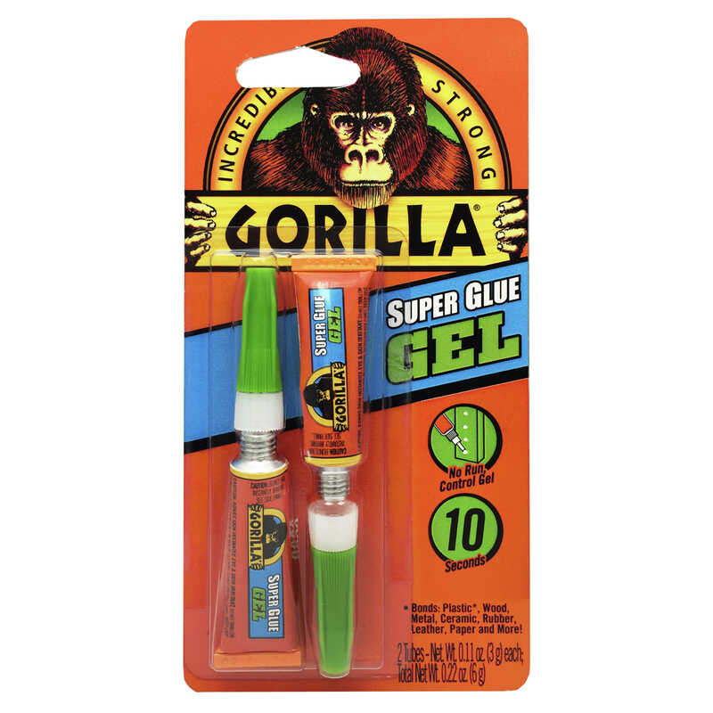 Gorilla  High Strength  Glue  Super Glue  .11 oz.
