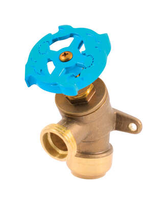 SharkBite Push to Connect 3/4 in. MHT x 3/4 in. Dia. MHT Garden Valve
