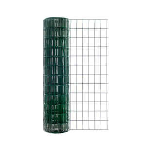 Garden Zone  36 in. H x 50 ft. L Steel  Garden  Fence  Green