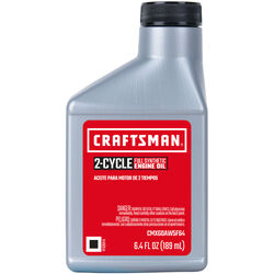 Craftsman  40:1/50:1  2 Cycle Engine  Synthetic  Motor Oil  6.4 oz.