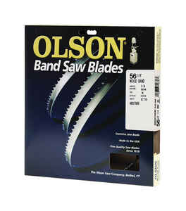 Olson  56.1 in. L x 0.3 in. W x 0.01 in. thick  Carbon Steel  Band Saw Blade  14 TPI Hook teeth 1 pk