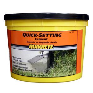 Quikrete  Quick-Setting  Cement  10 lb.