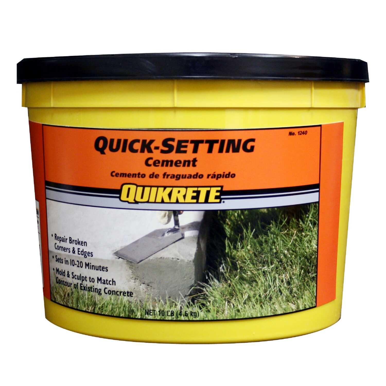 Quikrete Quick Setting Cement 10 Lb Ace Hardware