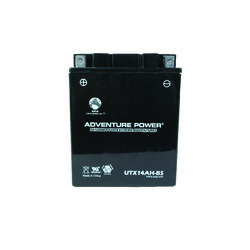 Universal Power Group  UTX14H-BS  210 CCA Dry Motorcycle Battery