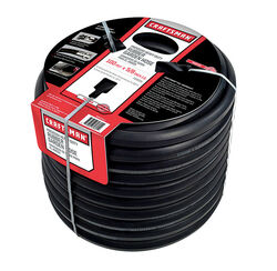 Craftsman 5/8 in. Dia. x 100 ft. L Premium Grade Black Rubber Hose