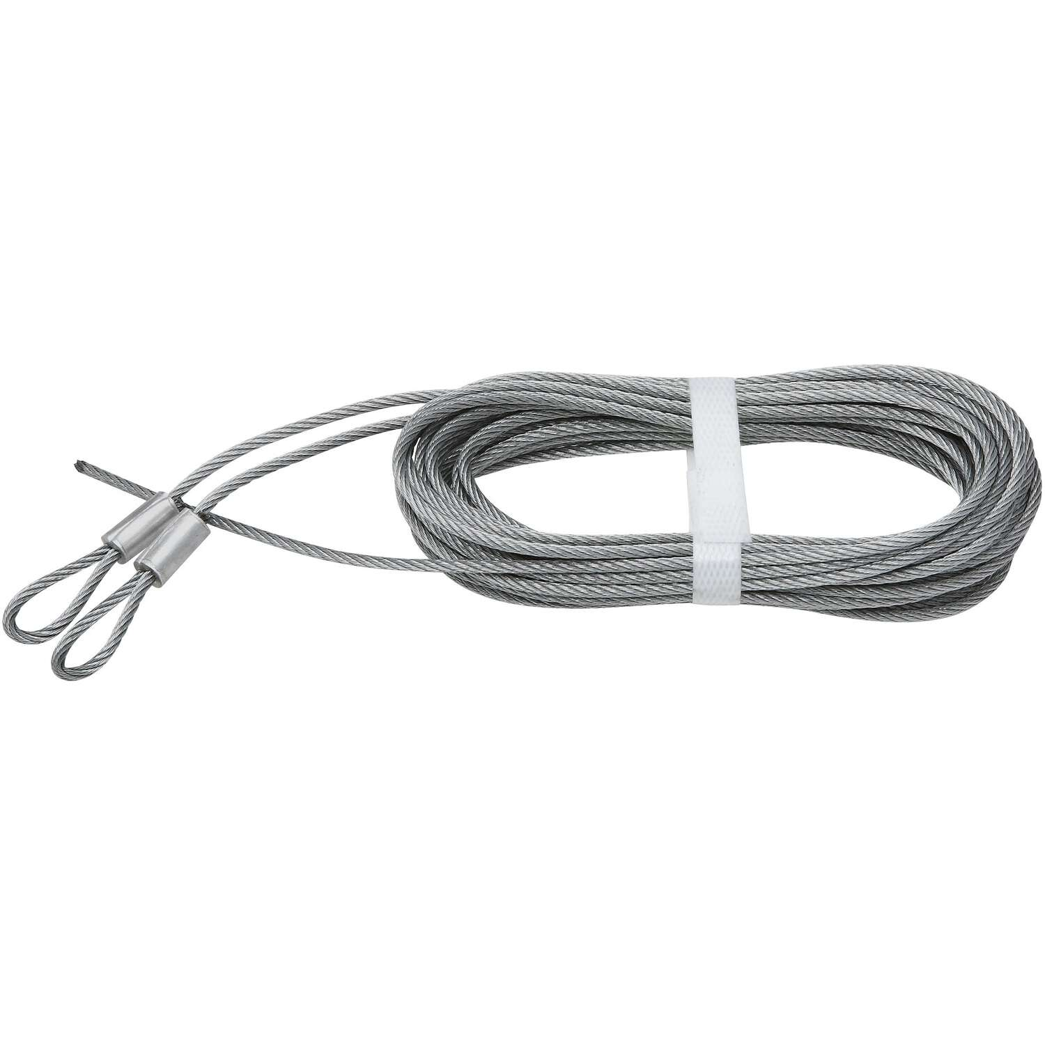National Hardware  Spring Lift Cables  12 ft. L