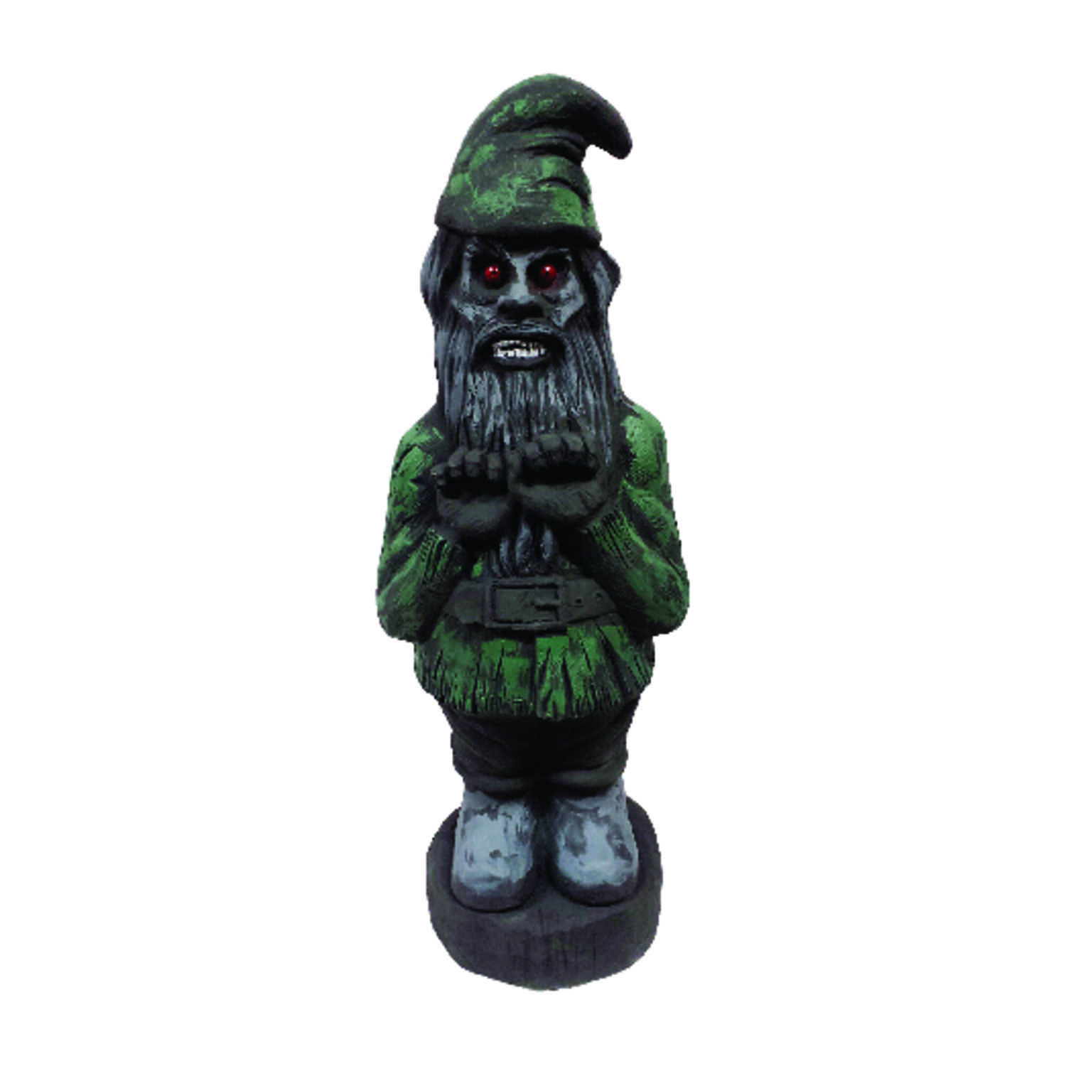 Union Products  Zombie Gnome  Halloween Decoration  26 in. H x 10 in. W x 26 in. L 1 each