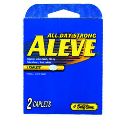 Aleve Pain Reliever 2 tablet