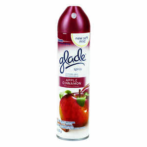 Glade  Apple Cinnamon Scent Air Freshener  8 oz. Aerosol