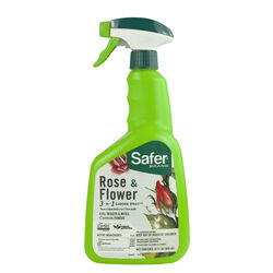 Safer Brand Organic Liquid 3-in-1 Rose and Flower 32 oz.