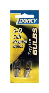 Dorcy  5-D Cell  Krypton  3  5-D Cell  Flashlight Bulb