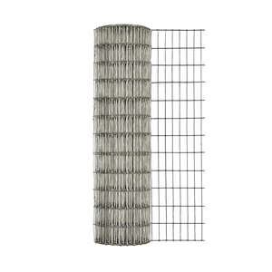 Garden Zone  24 in. W x 25 ft. L Steel  Wire Cage  1 in.