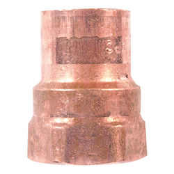 Mueller Streamline 1/2 in. Copper x 1/2 in. Dia. FIP Copper Pipe Adapter