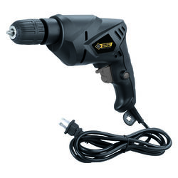 Steel Grip  3/8 in. Keyed  Corded Drill  4.2 amps 3 rpm