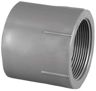 Charlotte Pipe Schedule 80 3/4 in. Slip x 3/4 in. Dia. FPT PVC Pipe Adapter