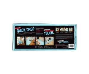 Trimaco  Heavy Weight  Canvas  Drop Cloth  7 ft. L x 2 ft. W