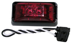 Peterson  Red  Rectangular  Clearance/Side Marker  Light Kit