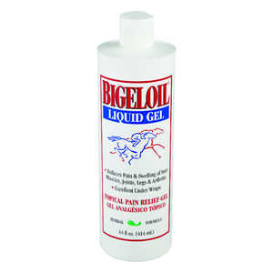 Bigeloil  Gel  Topical Pain Relief Rub  For Horse 14 oz.