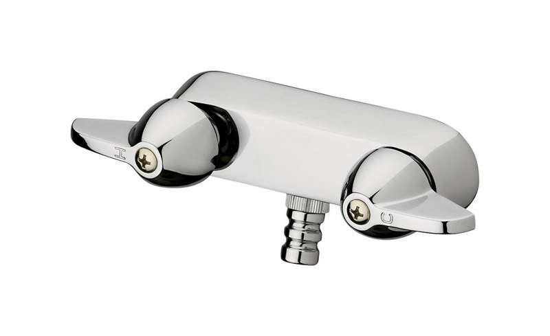 Homewerks 2-Handle Chrome Tub and Shower Faucet