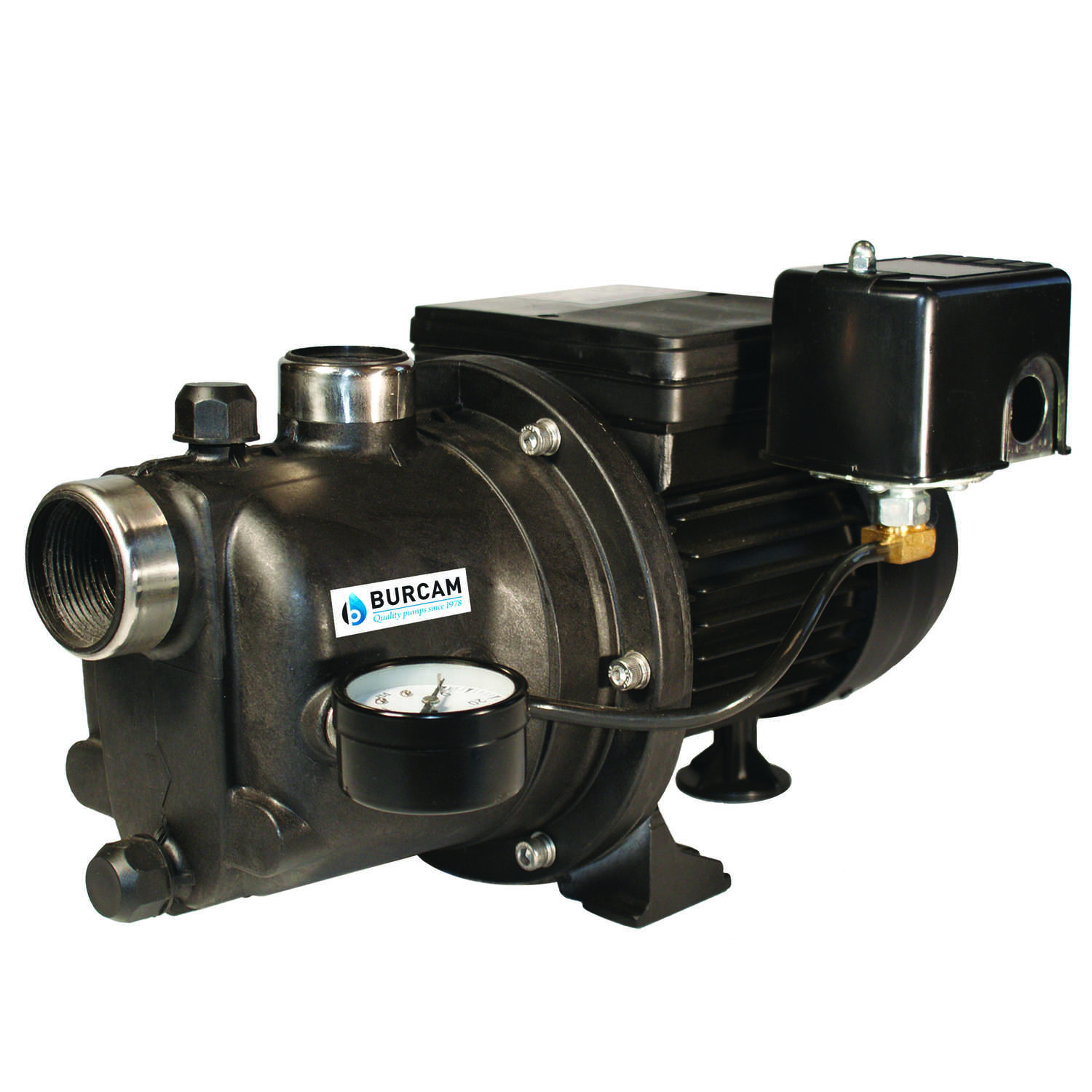 Burcam  Thermoplastic  Shallow Well Jet Pump  3/4 hp 850 gph