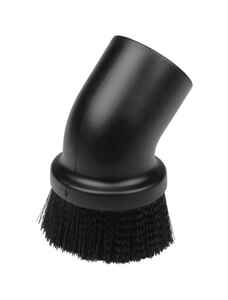 Craftsman  5 in. L x 5 in. W x 2-1/2 in. Dia. Dusting Brush  Black  1 pc.