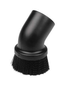 Craftsman  5  L x 5 in. W x 2-1/2 in. Dia. Dusting Brush  Black  1 pk