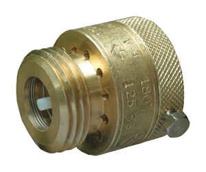 Cash Acme  3/4 in. Dia. Brass  Vacuum Breaker