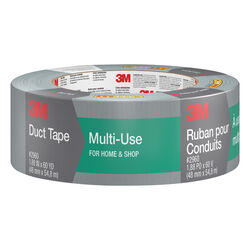 3M Scotch 1.88 in. W x 60 yd. L Silver Duct Tape