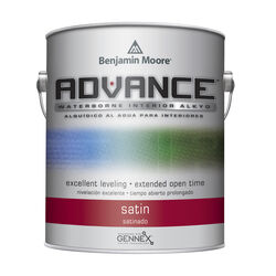 Benjamin Moore Advance Satin Base 1 Paint Interior 1 gal.
