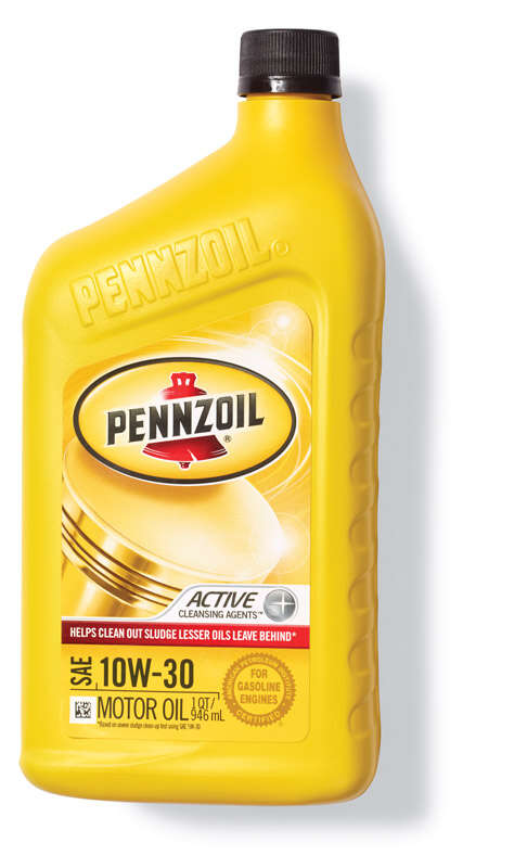PENNZOIL  10W-30  4 Cycle Engine  Motor Oil  1 qt.