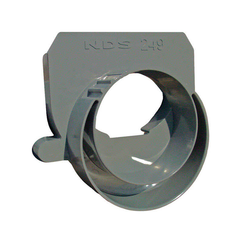 NDS  PVC  Basin End Outlet