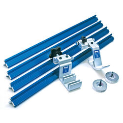 Kreg  Aluminum  2.5 in. L x 8.5 in. H x 32.25 in. W Trak and Stop Kit  Blue  8 pc.