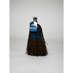 Elite 8 in. W Stiff Palmyra Fiber Broom