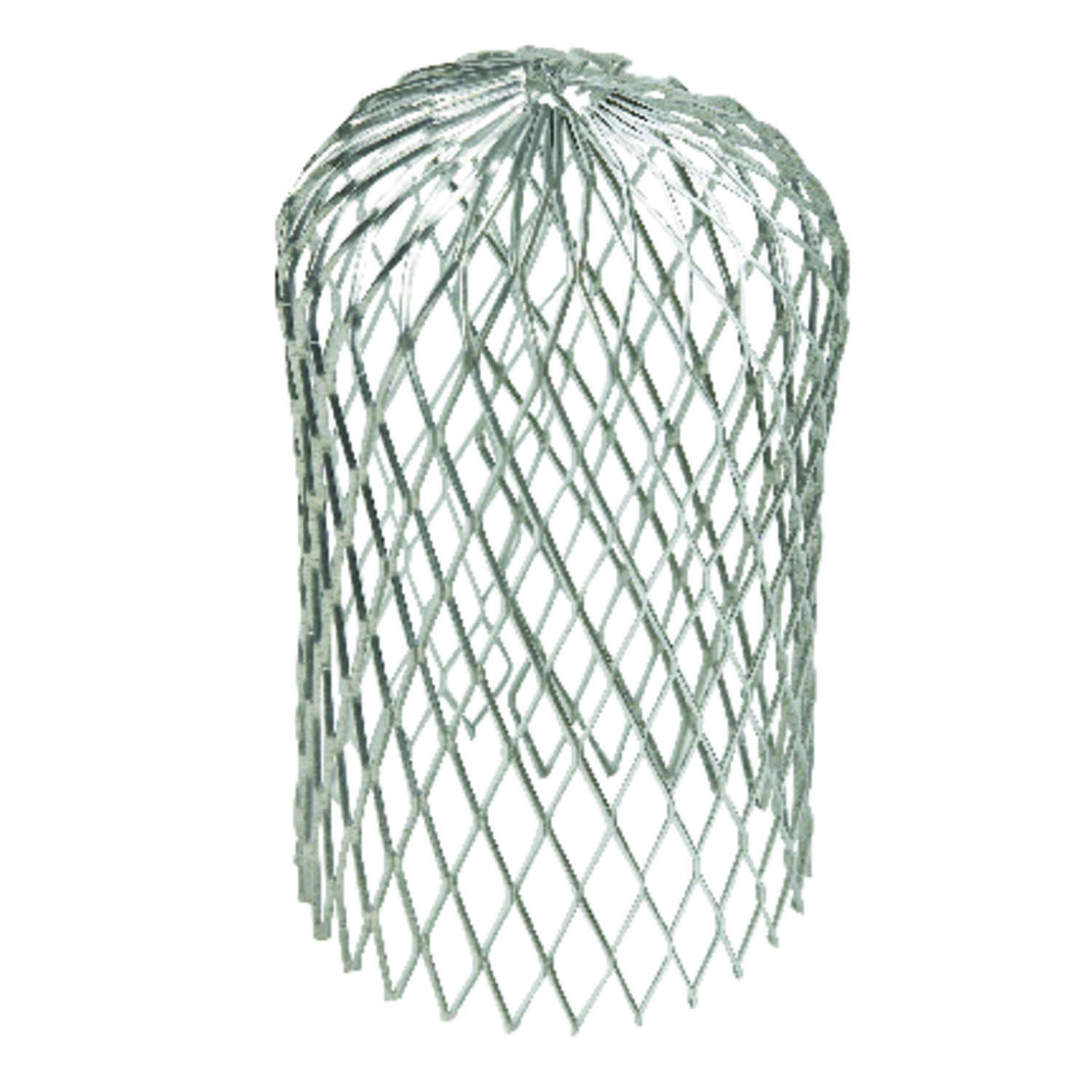 Amerimax  3 in. W x 5 in. L Gray  Galvanized Steel  Gutter Strainer